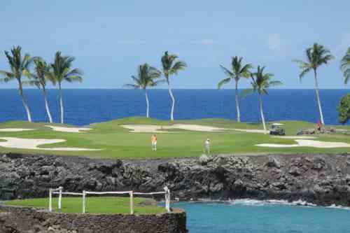 ハワイ島 マウナラニゴルフクラブ