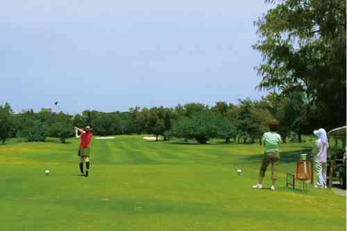 琉球ゴルフ倶楽部 27H 10,636Y P108 LPGA開幕戦 ダイキンオーキッド開催コース
