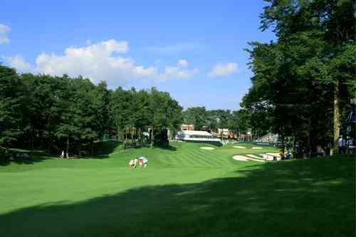 桂ゴルフ倶楽部 18H 7,116Y P72 R.T.ジョーンズ Jr. 設計 1993年開場