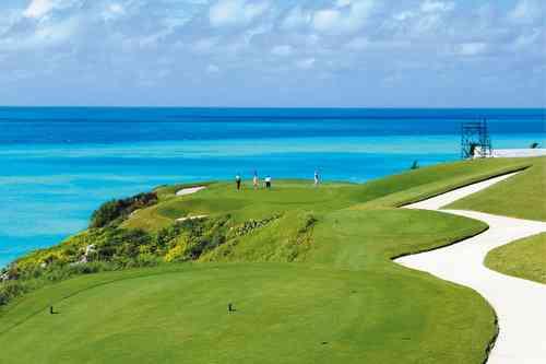 バミューダ島・ポートロイヤルゴルフクラブ 18H 6,842Y P71 1970年開場 R.T.ジョーンズSr.設計