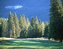 バンフスプリングス ゴルフコース 山手にリムロックホテルを望む