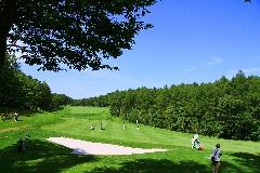 桂ゴルフ倶楽部 18H 7,116Y P72  R.T.ジョーンズJr.設計 '88年開場
