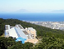 メディポリス指宿 展望台より錦江湾を望む