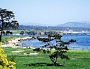 PEBBLE BEACH GL No18 18H 6,799Y  P72 Arc. J.NEVILLE & D.GLANT OPEN'D 1919