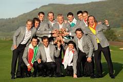前回大会優勝のヨーロッパチーム