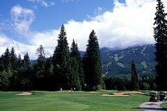 ウィスラーゴルフクラブ 18H 6,722Y P72  '83年開場 A.パーマー設計