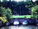 御前水ゴルフ倶楽部 18H 7,013Y P72空港から20分、高く密生した針葉樹と白樺に囲まれて…。